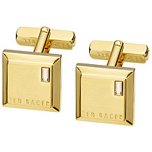 Buy Ted Baker Contrast Square Cufflinks Online at johnlewis.com