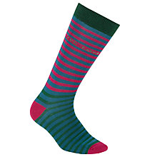 Buy Ted Baker Stripe Colour Swap Socks, One Size Online at johnlewis.com