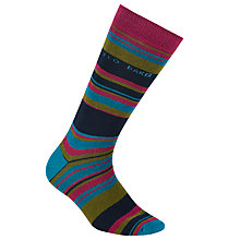 Buy Ted Baker Striped Organic Cotton Socks, One Size Online at johnlewis.com