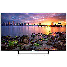 "Buy Sony KDL55W755CSU LED HD 1080p Android TV, 55"" with Freeview HD and Built-In Wi-Fi, Black with FREE Bluetooth Soundbar Online at johnlewis.com"