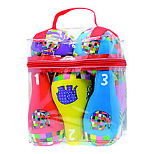 Buy Elmer Soft Bowling Set Online at johnlewis.com