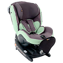 Buy BeSafe iZi Combi X4 ISOfix Car Seat, Lagoon Grey Green Online at johnlewis.com