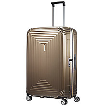 Buy Samsonite Neopulse 75cm Spinner 4-Wheel Large Suitcase Online at johnlewis.com