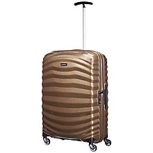 Buy Samsonite Lite-Shock Spinner 4-Wheel 69cm Medium Suitcase Online at johnlewis.com