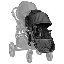 Buy Baby Jogger City Select Second Seat Kit, Black Online at johnlewis.com
