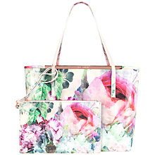 Buy Ted Baker Presley Shopper Bag, Shell Online at johnlewis.com
