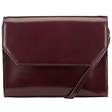 Buy Kin by John Lewis Loren Clutch Box Bag, Black Online at johnlewis.com