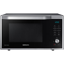 Buy Samsung MC32J7055CT Freestanding Microwave Oven, Stainless Steel Online at johnlewis.com