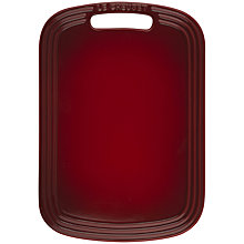 Buy Le Creuset Cheese Board, Cerise Online at johnlewis.com
