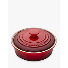 Buy Le Creuset Camembert Baker, Cerise Online at johnlewis.com