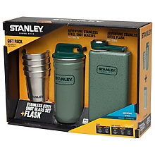 Buy Stanley Shots & Flask Gift Set Online at johnlewis.com