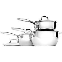 Buy OXO Good Grips Stainless Steel 3-Piece Pan Set Online at johnlewis.com