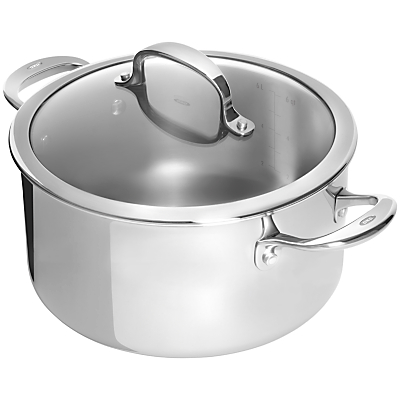 OXO Good Grips Pro Stainless Steel Stockpot, 7L, Dia.24cm