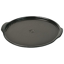 Buy Emile Henry Medium Pizza Stone, Charcoal Online at johnlewis.com