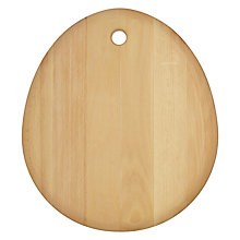 Buy John Lewis Pebble Chopping Board, Beech Online at johnlewis.com