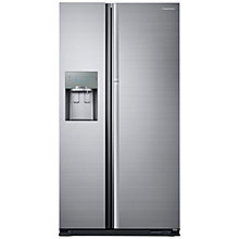 Buy Samsung RH56J69187F Food ShowCase American Style Fridge Freezer, A++ Energy Rating, 90cm Width, Stainless Steel Online at johnlewis.com