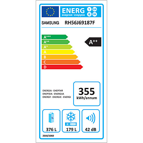 how to find energy rating food