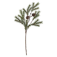 Buy Peony Pine Cone Pick, Green/Brown Online at johnlewis.com