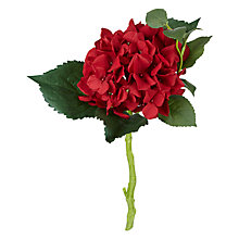 Buy Peony Hydrangea Pick, Red Online at johnlewis.com