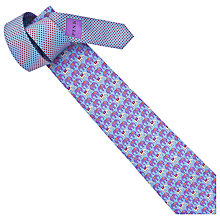 Buy Thomas Pink Elephant Parade Silk Tie Online at johnlewis.com