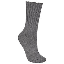 Buy John Lewis Cashmere Blend Rib Ankle Socks Online at johnlewis.com