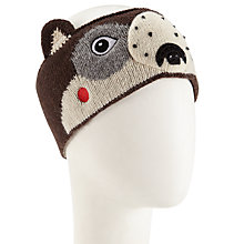 Buy John Lewis Novelty Bear Headband, Brown Online at johnlewis.com