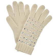 Buy John Lewis Beaded Crystal Gloves, One Size Online at johnlewis.com