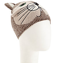 Buy John Lewis Novelty Cat Hat, Taupe Online at johnlewis.com