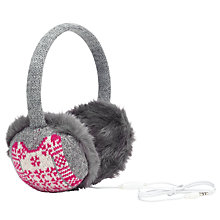 Buy John Lewis Christmas Jumper Hearmuffs Online at johnlewis.com