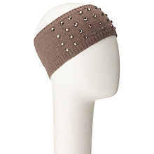 Buy John Lewis Beaded Crystal Headband, Cream Online at johnlewis.com