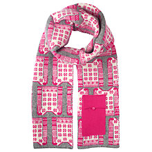 Buy John Lewis Christmas Jumper Tech Scarf Online at johnlewis.com