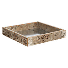 Buy Kaemingk Birch Medium Candle Tray Online at johnlewis.com