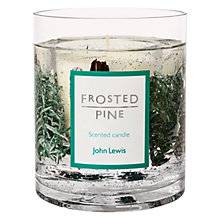 Buy John Lewis Frosted Pine Large Gel Candle Online at johnlewis.com