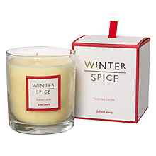 Buy John Lewis Winter Spice Scented Candle Online at johnlewis.com