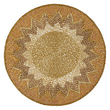 Buy John Lewis Patterned Beaded Place Mat Online at johnlewis.com