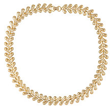 Buy Susan Caplan for John Lewis 1980s Gold Plated Statement Necklace, Gold Online at johnlewis.com