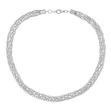 Buy Susan Caplan for John Lewis 1980s Silver Plated Necklace, Silver Online at johnlewis.com
