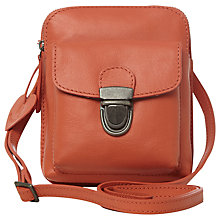 Buy White Stuff Patricia Leather Bag, Orange Online at johnlewis.com