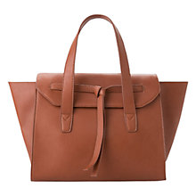 Buy Mango Big Knot Tote Bag, Medium Brown Online at johnlewis.com