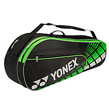 Buy Yonex Performance Series 6 Pack Badminton Bag, Black/Yellow Online at johnlewis.com