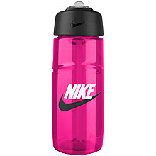Buy Nike T1 Flow Graphic Water Bottle, 473ml, Pink Online at johnlewis.com