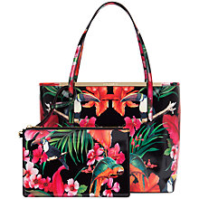 Buy Ted Baker Tulie Purse Shopper Bag, Black Online at johnlewis.com