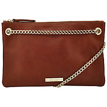 Buy Somerset by Alice Temperley Taunton Across Body Clutch Bag, Tan Online at johnlewis.com