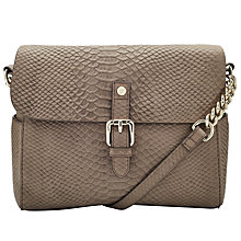Buy Somerset by Alice Temperley Rosegrove Mini Leather Shoulder Bag, Walnut Online at johnlewis.com