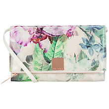 Buy Ted Baker Presila Across Body Clutch Bag, Dusky Pink Online at johnlewis.com
