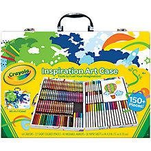 Buy Crayola Inspirational Art Case Online at johnlewis.com