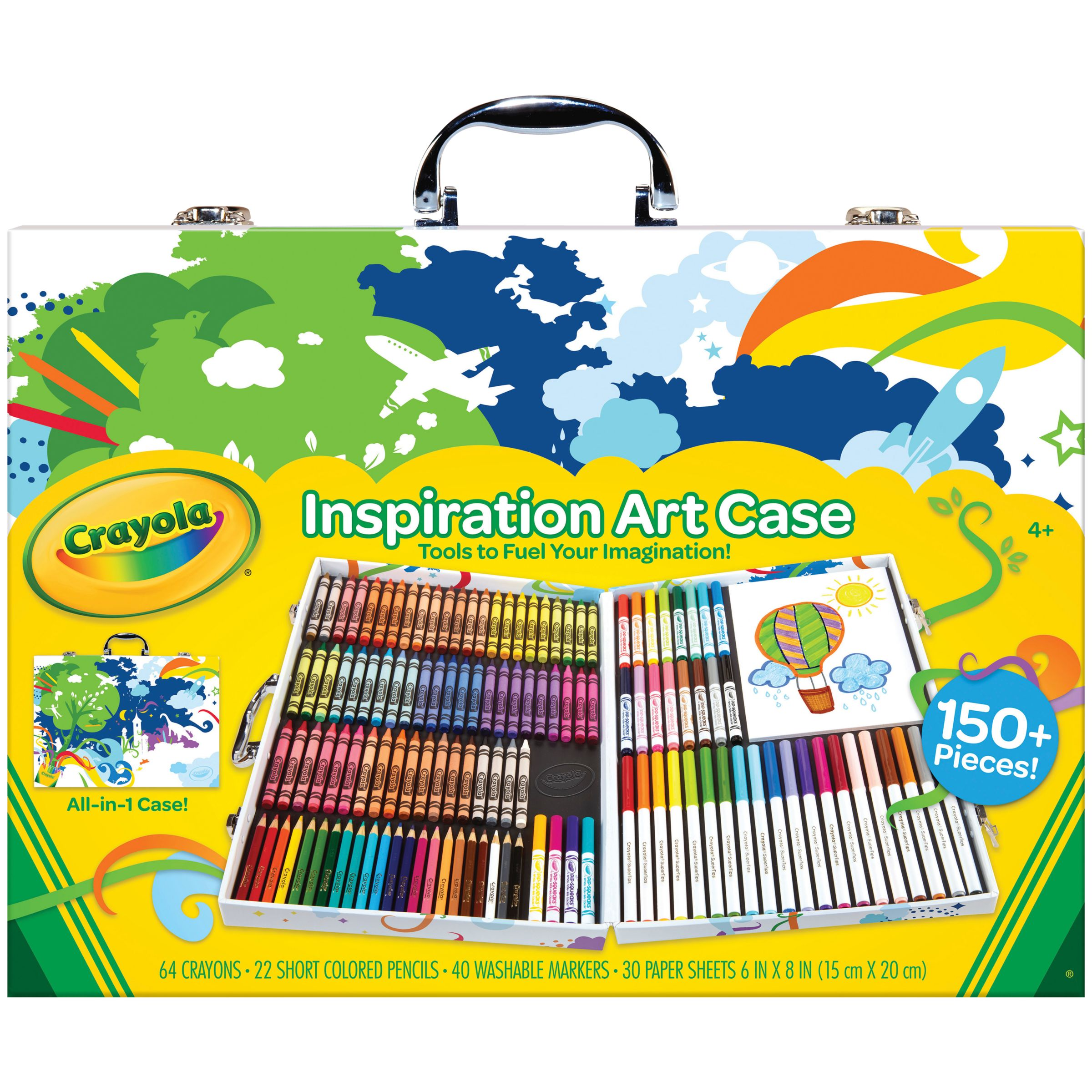 Crayola Crayola Inspirational Art Case