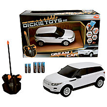 Buy Dickie Toys Dream Car Remote Control Range Rover Online at johnlewis.com