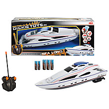 Buy Dickie Toys Sea Lord Remote Control Boat Online at johnlewis.com