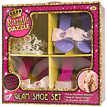 Buy Halsall Razzle Dazzle Glam Shoe Set Online at johnlewis.com